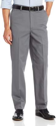 Savane Men's Wrinkle Free Performance Chino Flat Front Pant