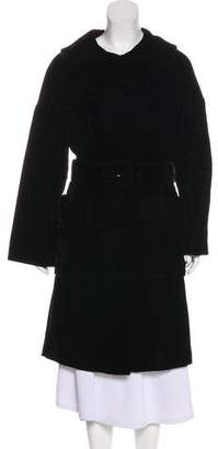 Tom Ford Velvet Knee-Length Coat