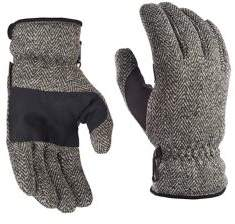 Weatherproof Herringbone Fleece Gloves