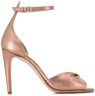 RED Valentino RED(V) twist detail sandals