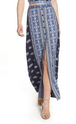 Band of Gypsies Bandana Print Skirt