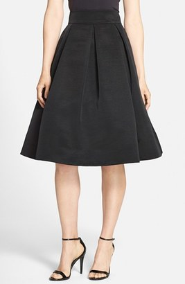 Women's Eliza J Faille Midi Skirt $138 thestylecure.com