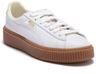 Puma Basket Platform Core Leather Sneaker