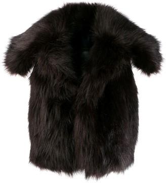 DSQUARED2 sleeveless fur gilet
