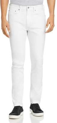 Levi's 511 Slim Fit Jeans in White Bull