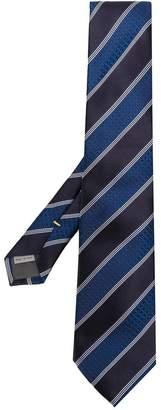 Canali wide stripe tie