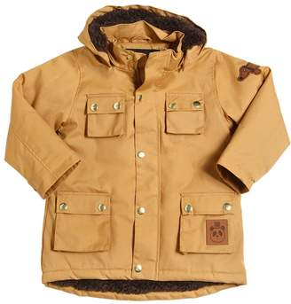 Mini Rodini Waterproof Organic Cotton Puffer Parka