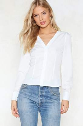 Nasty Gal Craving Structure Blouse