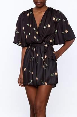 Oh My Love Kimono Romper
