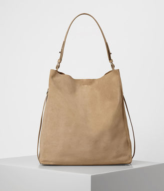 Paradise North South Suede Tote $298 thestylecure.com