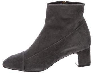 Hermes Suede Ankle Boots