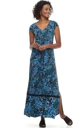 Dana Buchman Women's Shirred Maxi Dress