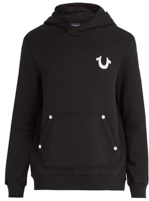 True Religion Buddha-print cotton hooded sweater