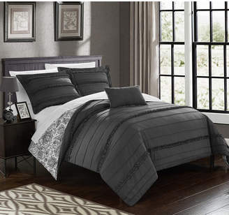 Chic Home Eliza 3 Pc Twin Duvet Cover Set Bedding