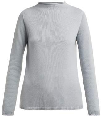 Max Mara S Oglio Sweater - Womens - Light Blue