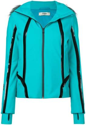 Fendi zipped hooded jacket