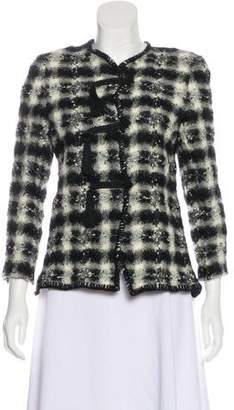 Ungaro Paris Wool Novelty Blazer