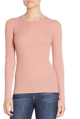 Theory Mirzi Refined Merino Wool Sweater $200 thestylecure.com