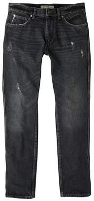 Mango man MANGO MAN Straight-fit black Bob jeans