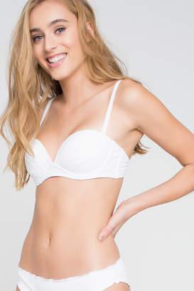 Ardene Ruched Push Up Bikini Top