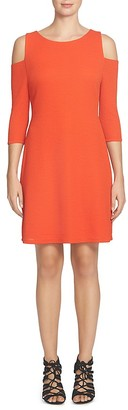 Cynthia Steffe Textured Cold-Shoulder Dress $118 thestylecure.com