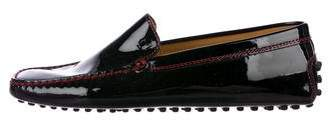 Tod's Ferrari x Patent Leather Loafers