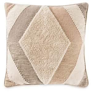 Callisto Home Home Ankara Geometric Tufted Pillow