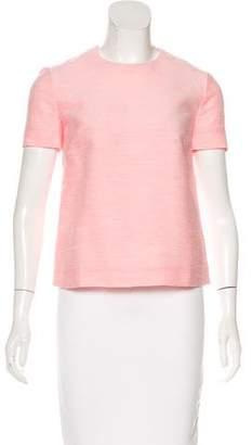 Stella McCartney Bouclé Short Sleeve Top