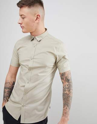 ONLY & SONS Slim Fit Short Sleeve Shirt