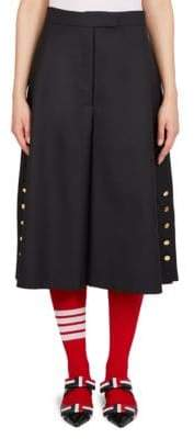 Thom Browne Buttoned Wool Culottes