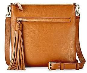 GiGi New York Women's Scott Pebbled-Leather Crossbody Bag