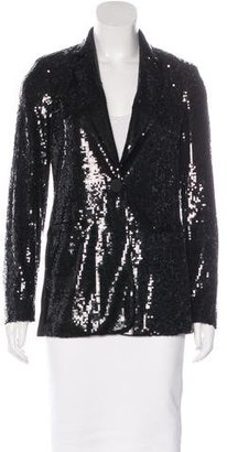Rachel by Rachel Roy Structured Sequin Blazer $80 thestylecure.com