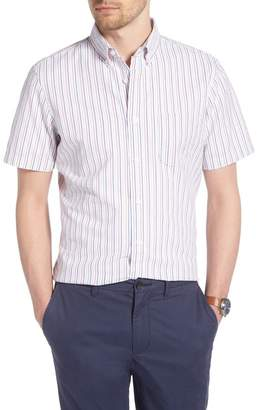 1901 Trim Fit Seersucker Short Sleeve Sport Shirt