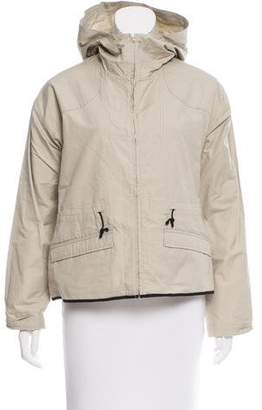 Hache Hooded Lightweight Jacket w/ Tags