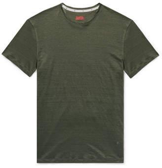 Isaia Slub Linen T-Shirt