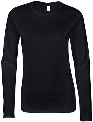 Gildan Softstyle womens long sleeve t-shirt M