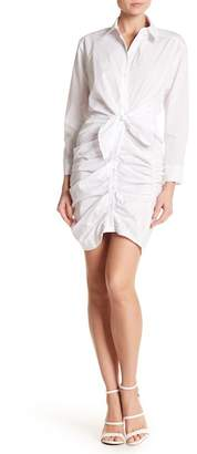 ASTR the Label Self-Tie Shirt Dress