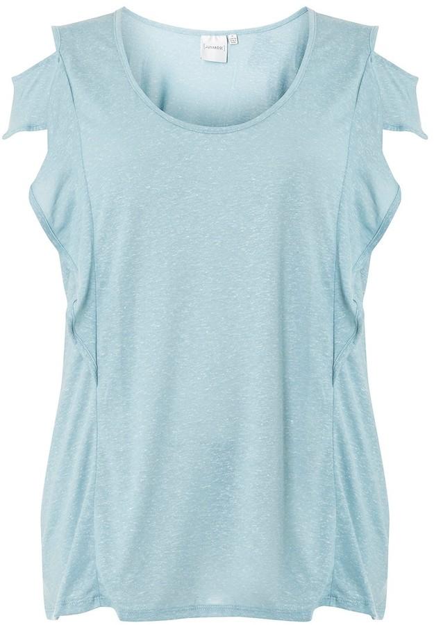 Juna Rose Curve Pale Blue T-Shirt