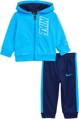 Nike Therma Full Zip Hoodie & Jogger Pants Set