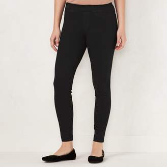 Lauren Conrad Women's Pull-On Skinny Ankle Jeggings