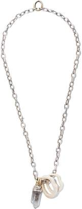 Hunrod crystal stacking necklace