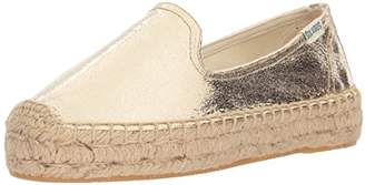 Soludos Women's Platform Metallic SMKG Slipper