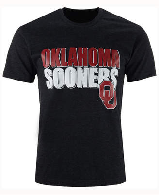 Colosseum Men's Oklahoma Sooners Wordmark Stack T-Shirt