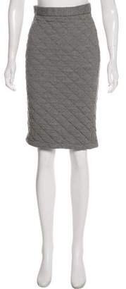 Creatures of Comfort Quilted Knee-Length Skirt