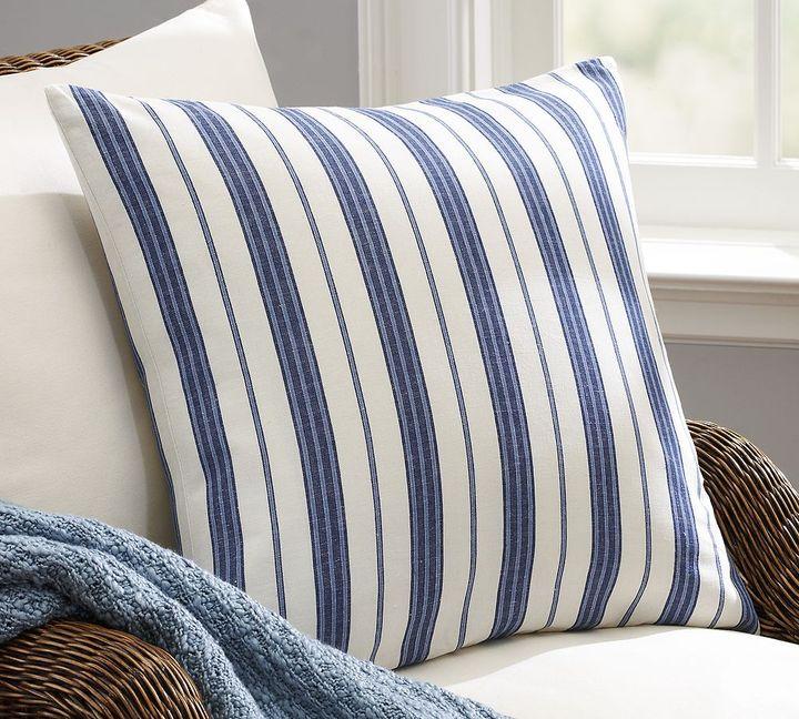 Oxford Stripe Pillow Cover