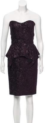 Gucci Velvet Strapless Dress w/ Tags