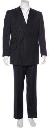 Tom Ford Striped Double-Breasted Wool Suit