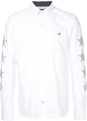 GUILD PRIME star print collared shirt