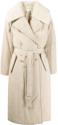Low Classic padded trench coat