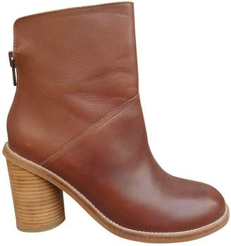 Surface to Air Brown Leather Ankle boots